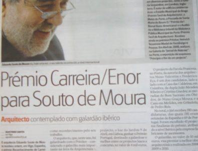 Prêmio ibérico reconhece carreira de Souto de Moura