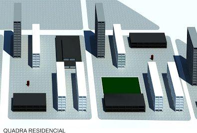 Quadras residenciais
