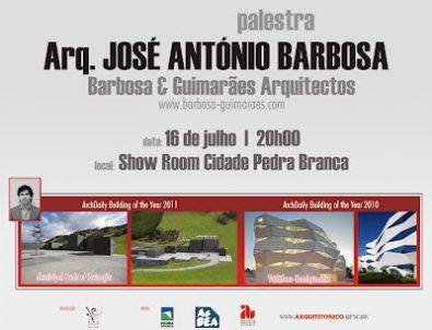 Palestra arquiteto José António Barbosa