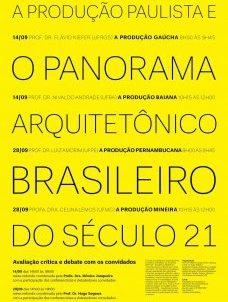 FAU-USP 28-09-12 – Debate sobre arquitetura brasileira