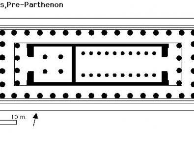 Parthenon – plantas e imagens