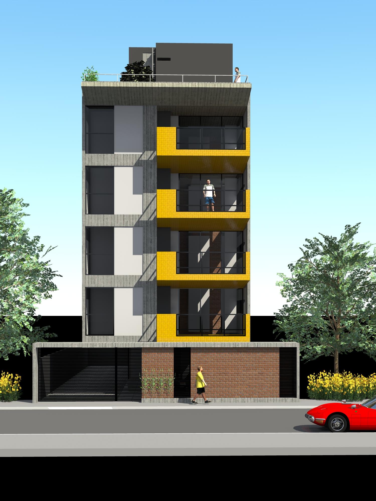 PJV Arquitetura - Edifício Residencial D
