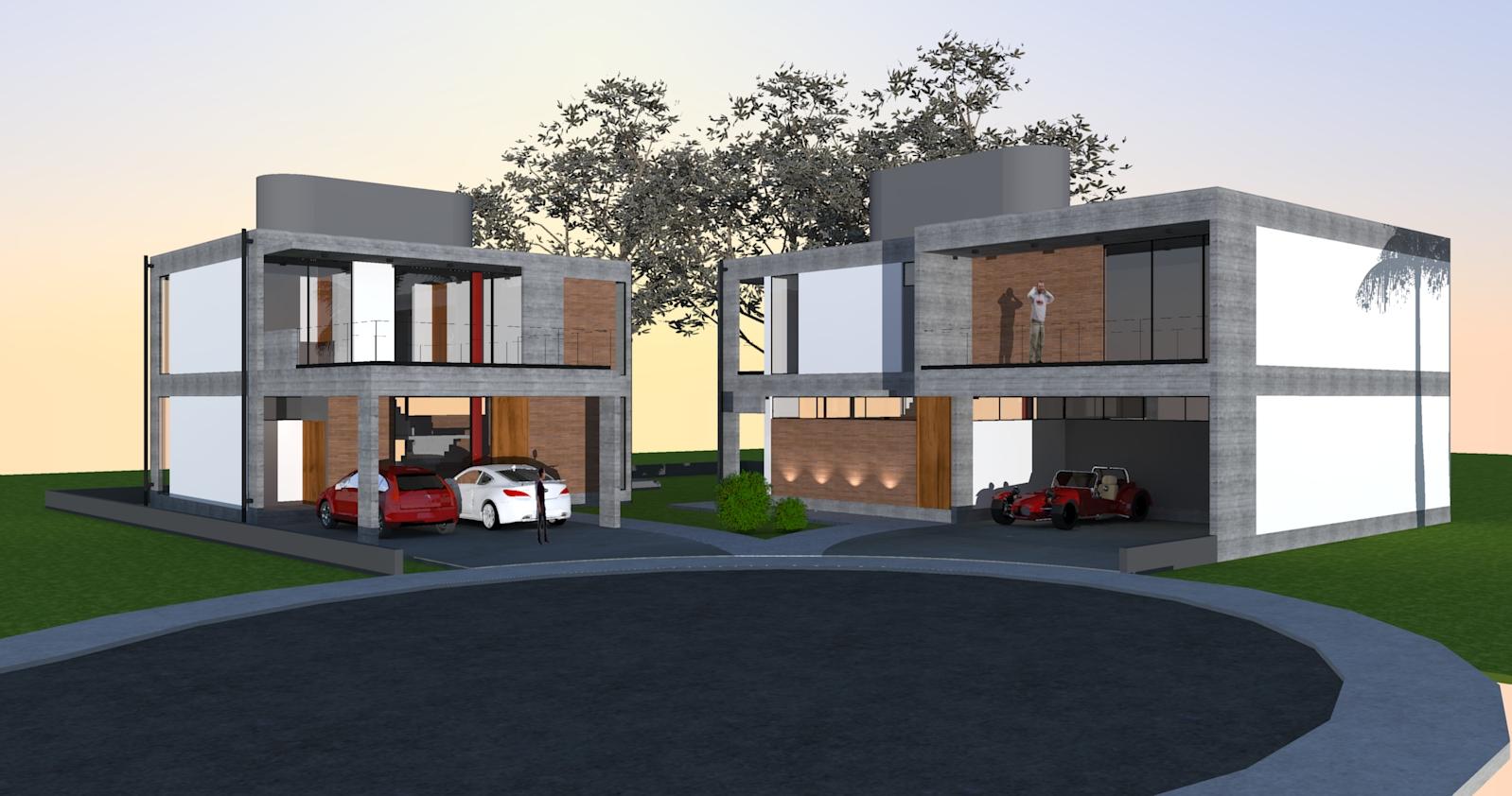 PJV Arquitetura - Casas Manske