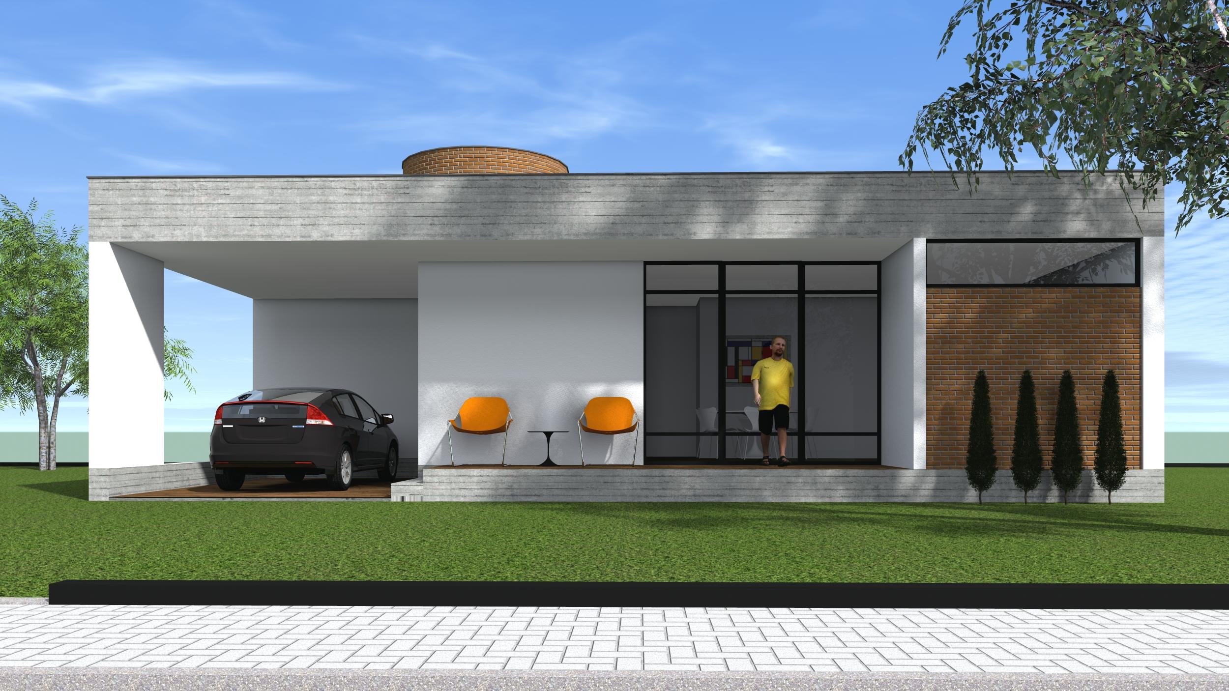 PJV Arquitetura - Casa CSP 03