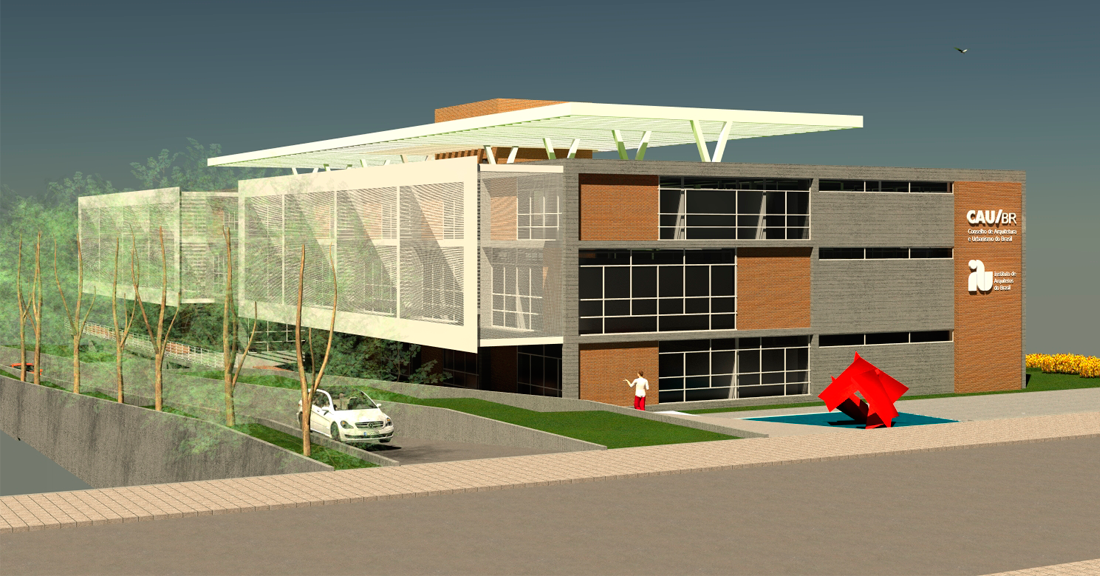 PJV Arquitetura - Sede Cau