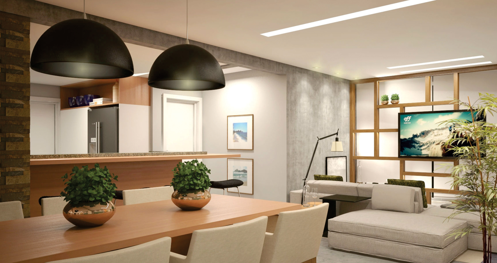 PJV Arquitetura - Apartamento de praia