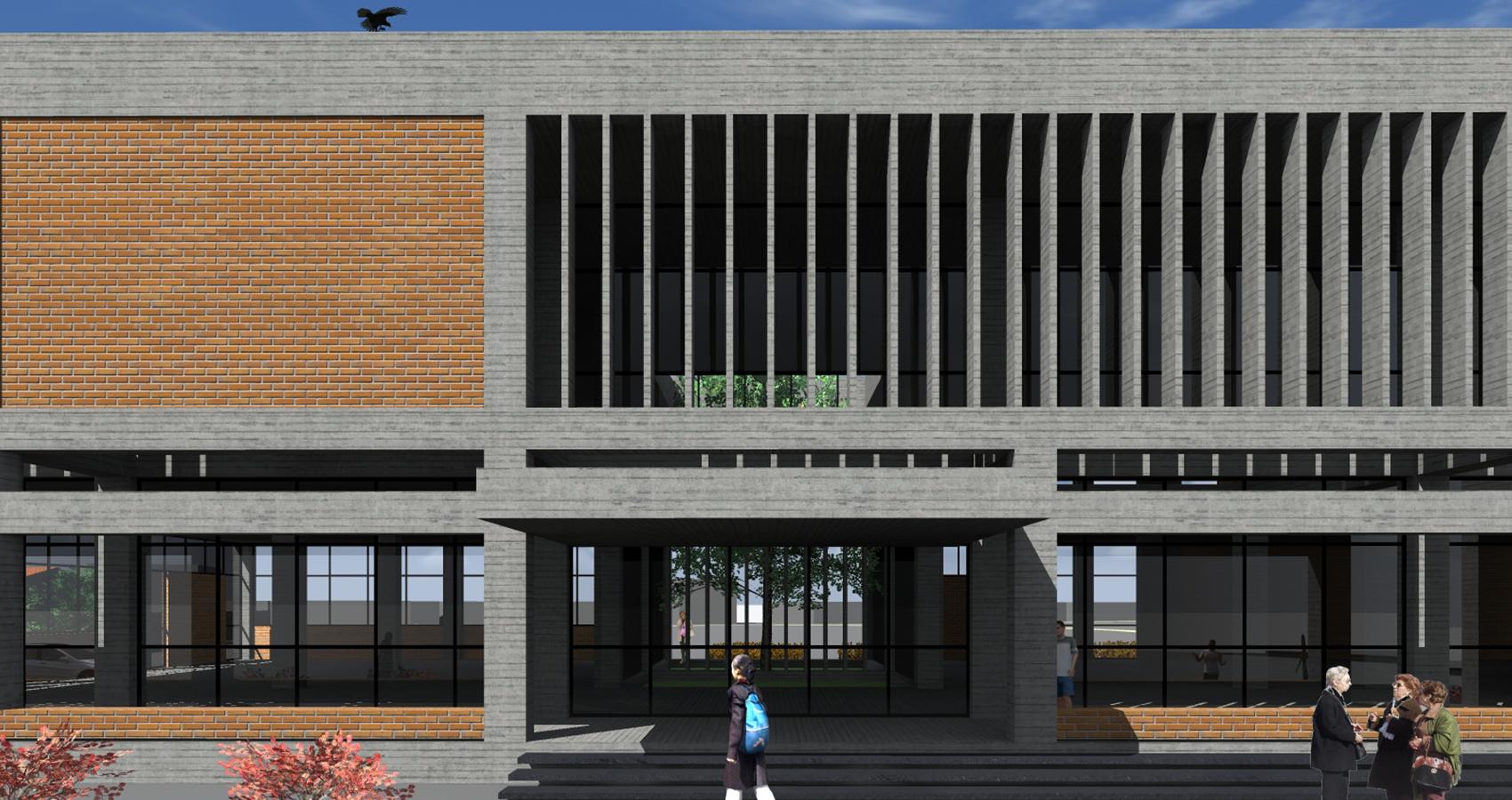 PJV Arquitetura - Biblioteca Municipal de Barra Velha