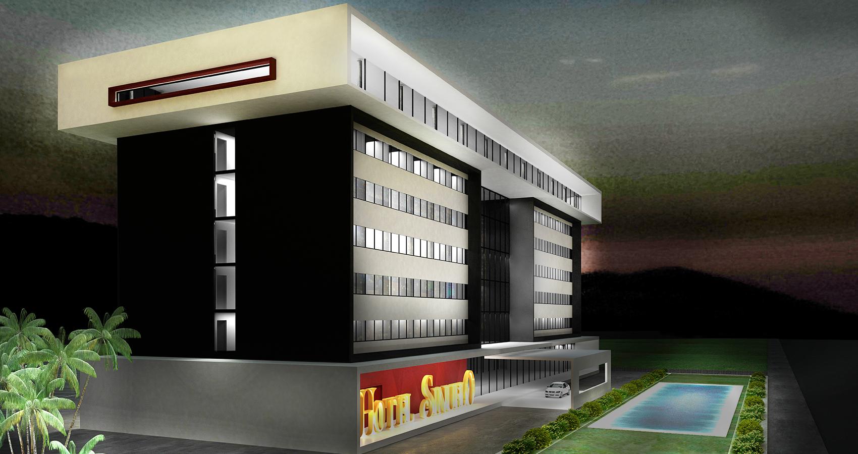 PJV Arquitetura - Hotel Sinuelo