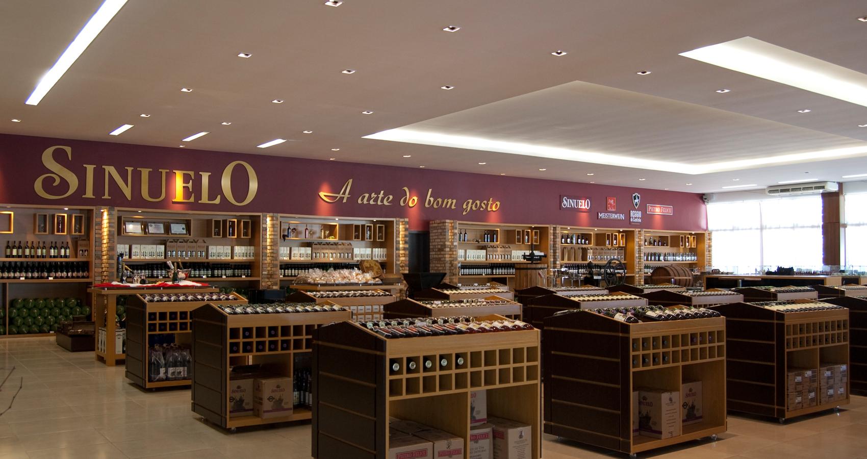PJV Arquitetura - Loja de vinhos Sinuelo